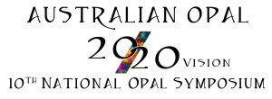 2020 National Opal Symposium